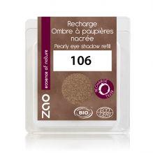 Recharge fard à paupières nacré - bronze - 106 - 3 g