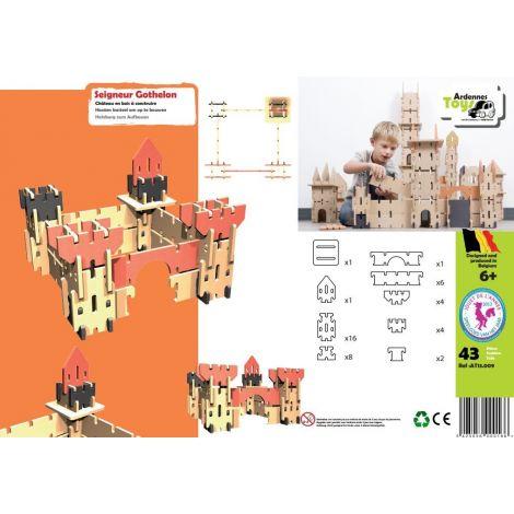 Jeu de construction : Château Seigneur Gothelon - à partir de 6 ans