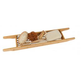 Set cadeau support de baignoire en bambou