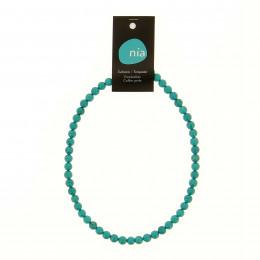 Collier perle 40 cm Turquenite