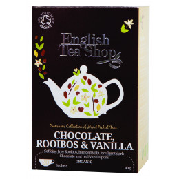 Infusion Rooibos chocolat vanille BIO - 20 infusettes