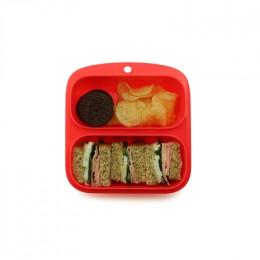 Petit récipient pour aliments avec 2 compartiments **