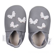 Chaussons 4272 - Papillons gris