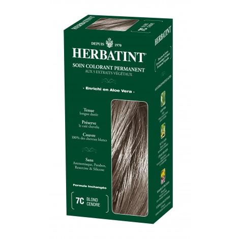 Coloration Permanente Aux Extraits Végétaux 7c Blond Cendré Sebio