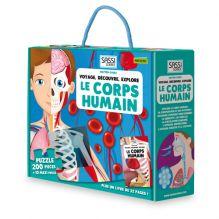 Puzzle Le corps humain 200 pièces - à partir de 6 ans