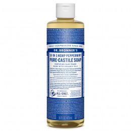 Savon de Castille multi-usage 18 en 1 Menthe poivrée 473 ml