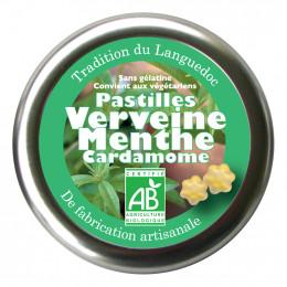 Pastilles Verveine Menthe Cardamome 45 g