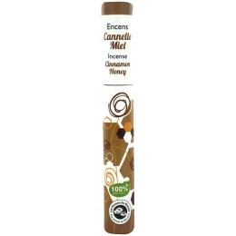 Encens végétal Cannelle Miel 30 bâtons
