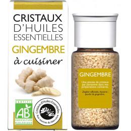 Cristaux d'huiles essentielles à cuisiner - gingembre - 10 g