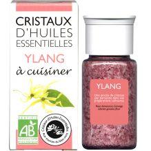 Cristaux d'huiles essentielles à cuisiner - ylang - 10 g