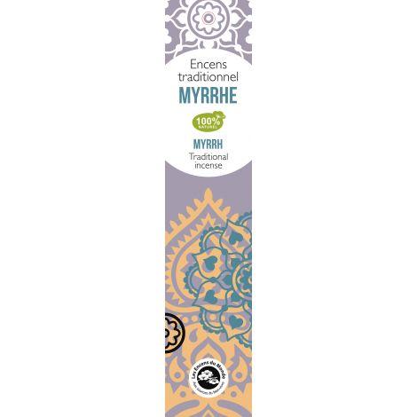 Encens traditionnel Indien Myrrhe 20 g