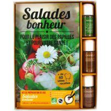 """Coffret """"Kit"""" de préparation de vos """"Salades Bonheur"""" + livre"""