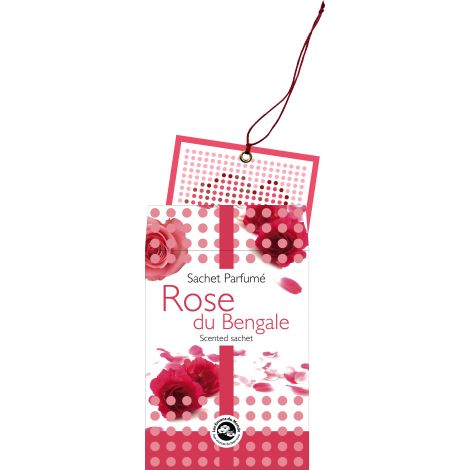 Sachet parfumé Rose du Bengale
