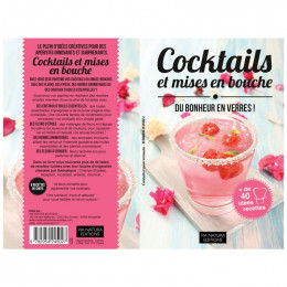 Livre de recettes pour cocktails et mises en bouche