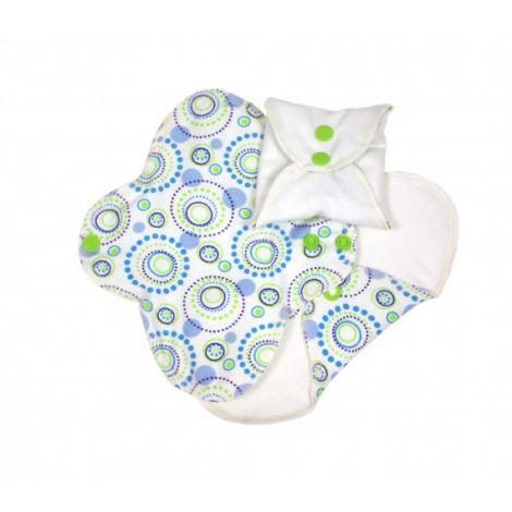 Protège-slips lavables en coton BIO - Orbit - pack de 3