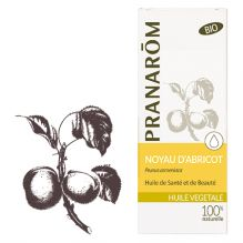 Huile végétale de noyau d'abricot BIO - 50 ml