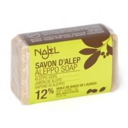 Savon d'Alep - Huile d'olive et 12% Laurier