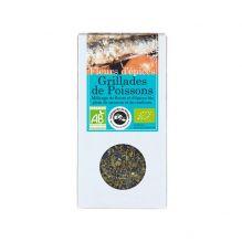 Fleurs d'épices : grillades de poissons - 25 g