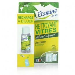Recharge pour spray nettoyant vitres à diluer - 50 ml