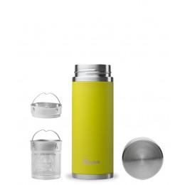 Théière nomade isotherme en inox 300 ml Vert anis