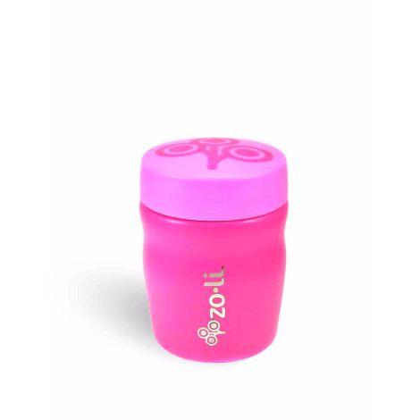 Boîte isotherme en inox 350 ml Sans BPA ni phtalate Rose Fluo