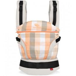 Porte-bébé édition limitée en coton BIO - Vivid Orange