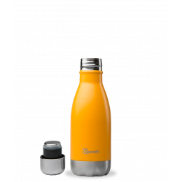 Bouteille isotherme en inox - Orange - 260 ml