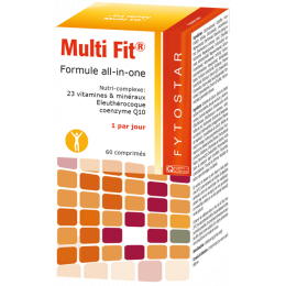 Multi Fit complexe Multi vitamines 60 comprimés