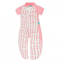 Pyjama transformable en sac de couchage - Pink Cherry TOG 1.0 / 2-12 mois *