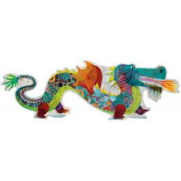 Puzzle géant Léon le dragon - A partir de 5 ans