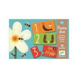 Puzzle duo chiffres - A partir de 3 ans