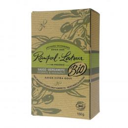 Savons extra doux Sauge - Bergamotte Bio  150 g