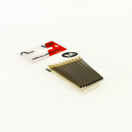 Lot de 10 recharges pour stylo-bille en bois sans clip FSC