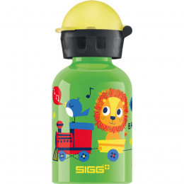 Gourde en aluminium - 300 ml - Jungle train