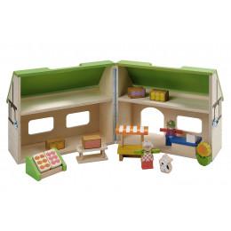 Maison de poupées - Magasin BIO - à partir de 3 ans *