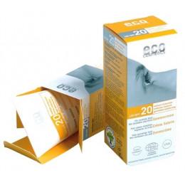 Crème Ecran solaire SPF 20 Argousier et Olive