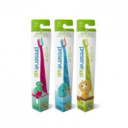 Brosse à dents enfants pots de yaourt recyclés - Soft