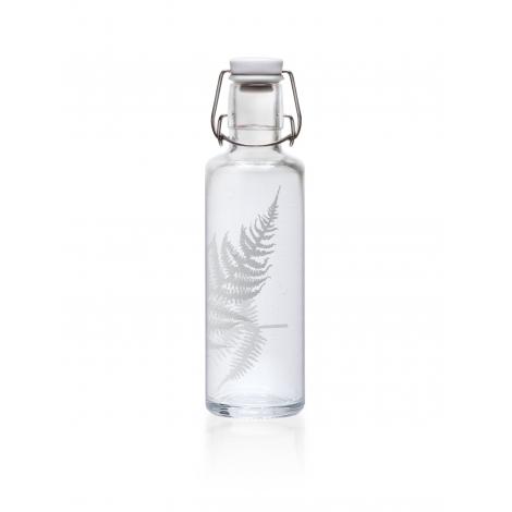 """Bouteille en verre 600 ml  """" Fougère """""""
