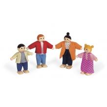 Coffret personnages pour maison de poupées - à partir de 3 ans