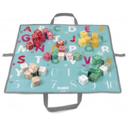 40 cubes 'lettres et chiffres' Kubix - à partir de 2 ans