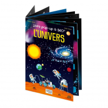 Livre Pop up 360° L'Univers - à partir de 5 ans