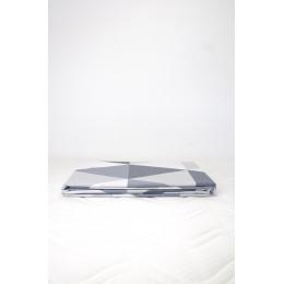 Housse de couette enfant 100 x 140 cm + 1 taie 40 x 60 cm Coton Bio Losanges gris