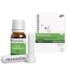 Aromaforce : aromastick lotion et stick inhalateur