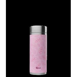 Théière nomade isotherme en inox 300 ml Pastel Rose poudré **