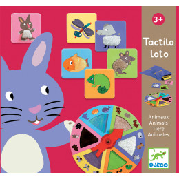 Tactilo loto: Animaux - à partir de 3 ans