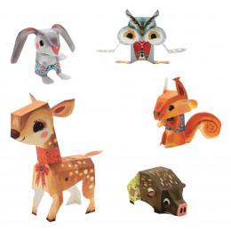Paper Toys 'Bois joli' - à partir de 7 ans
