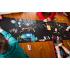 Ardoise géante noire Chemin de table + 4 craies et un porte craies - à partir de 3 ans