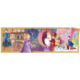 Puzzle Silhouette 'Cendrillon' - 36 pièces - à partir de 4 ans