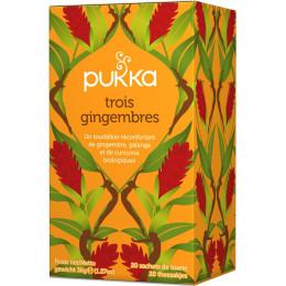 Tisane - Trois gingembres 20 infusettes BIO