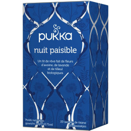 Infusion - Nuit paisible 20 infusettes BIO